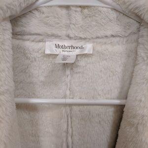 Faux Fur maternity vest